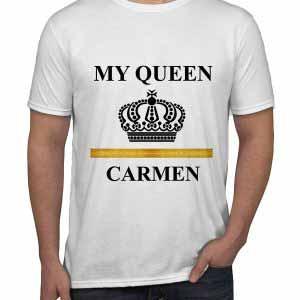 Tricou barbati My Queen
