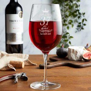 pahar de vin personalizat